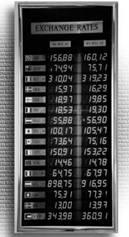 árfolyamkijelző