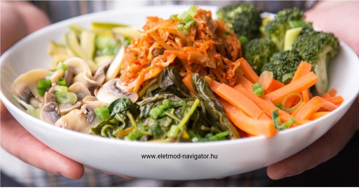 bélmozgások a nyers ételek méregtelenítésére