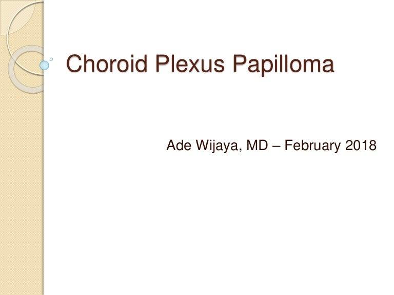choroid plexus jelentése papilloma)