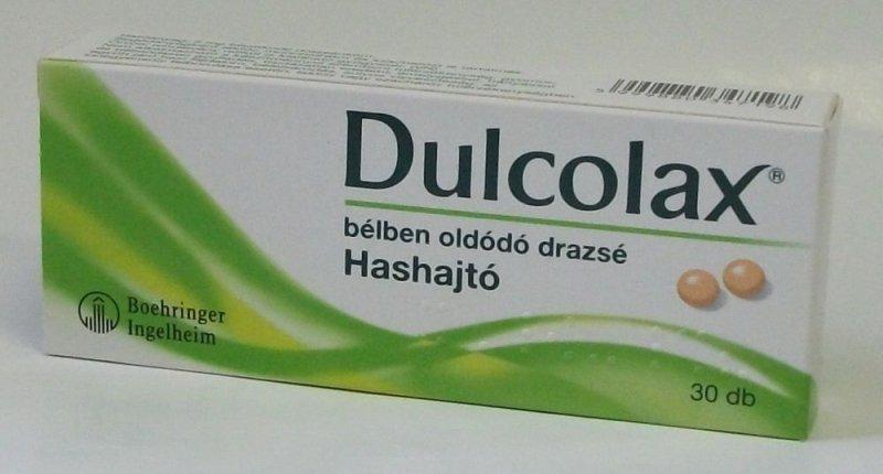 DULCOLAX BÉLBEN OLDÓDÓ DRAZSÉ 30X