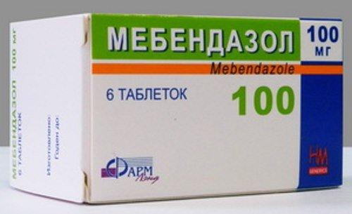 Férgekhez való készítmények természetes alapon, Tabletta férgek címére
