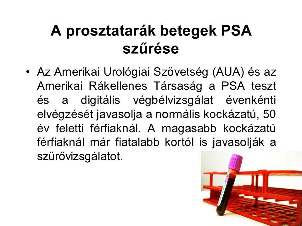 prosztatarák ppt)