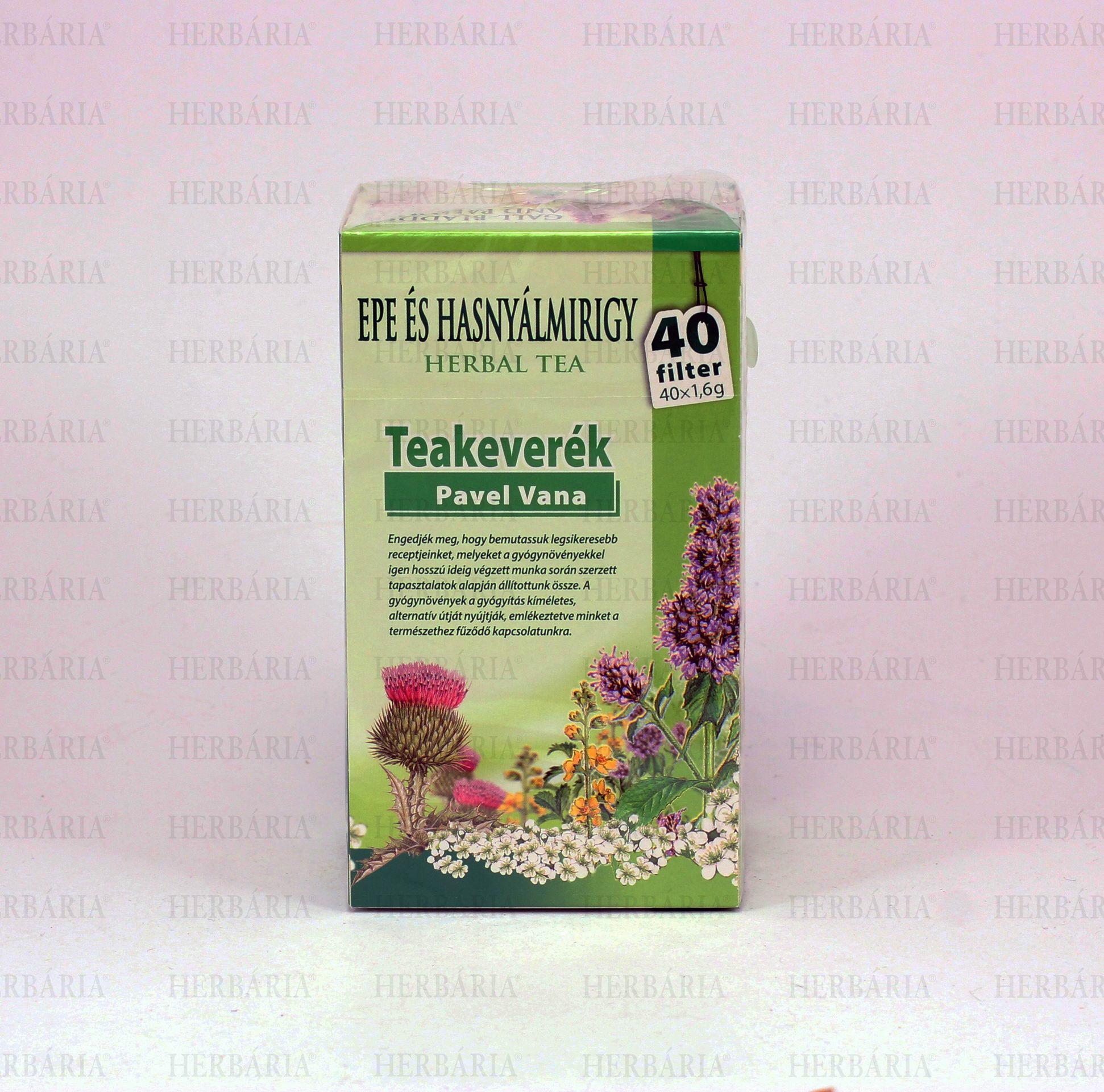 tea a hasnyálmirigy méregtelenítésére