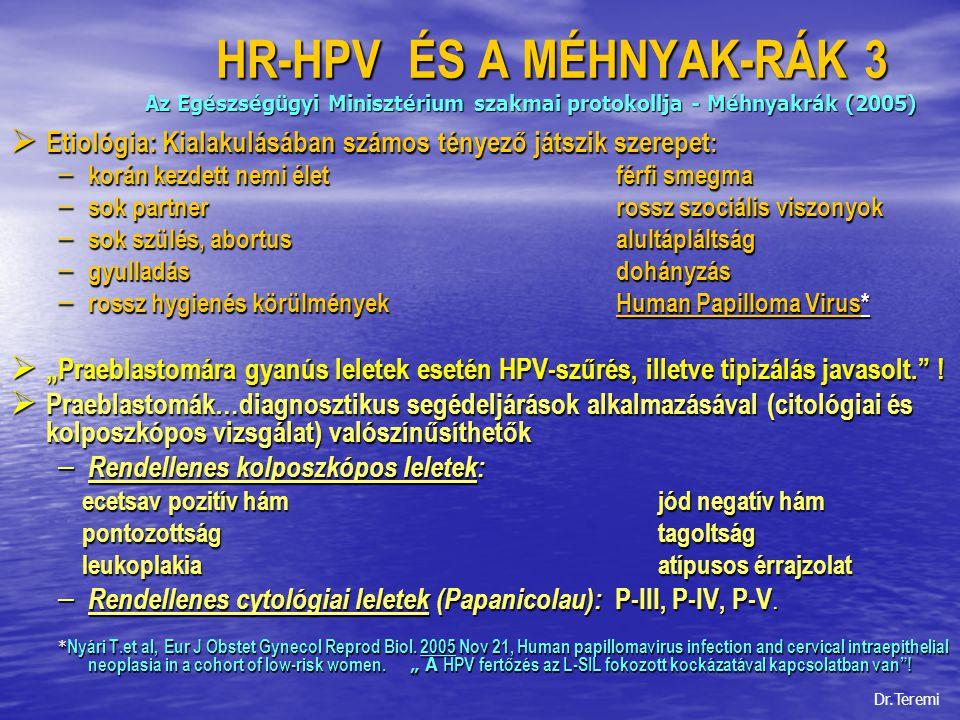 papilloma vírus egészségügyi minisztérium)