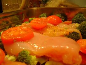 méregtelenítés csirke tomákkal)