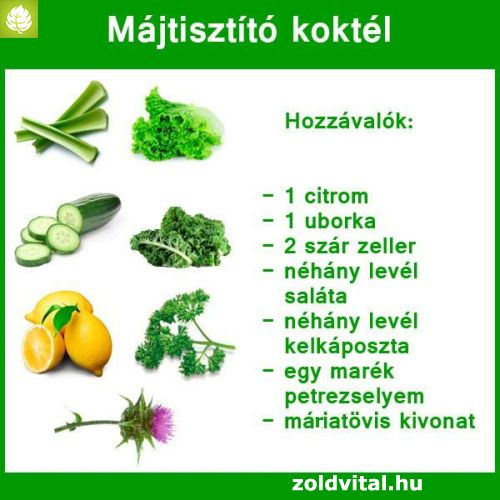 máj méregtelenítő étel)