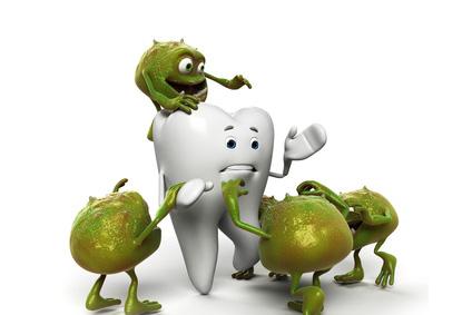 baktériumok a szájban)