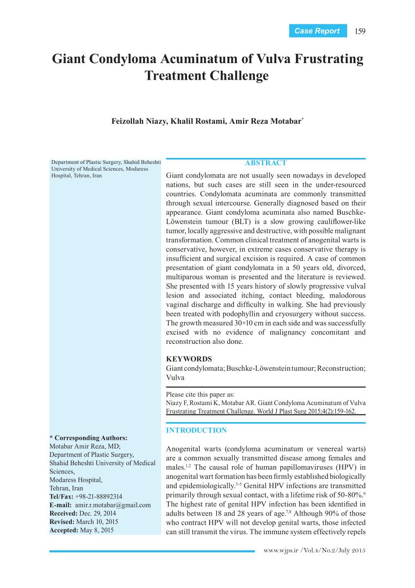 a condyloma befolyásolja a hatékonyságot hpv magas kockázat a papon