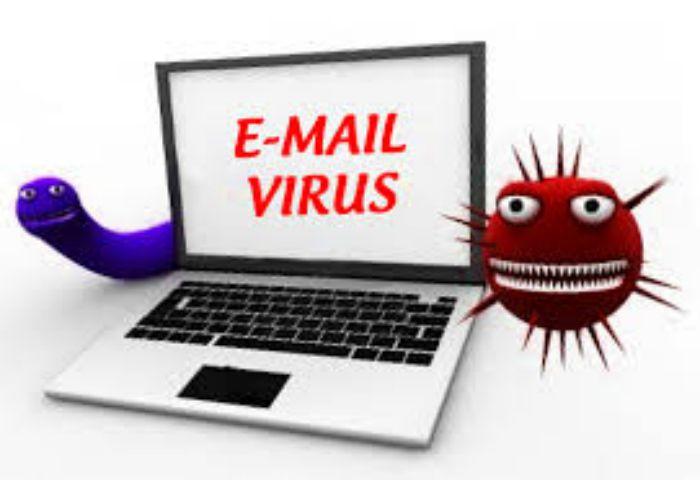 A vírussal fertőzött e-mailek azonosítása