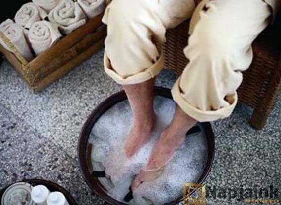 Szervezetünk nagytakarítása: méregtelenítő sós-vizes lábfürdő