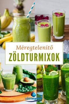 Vastagbél méregtelenítő turmix receptek)