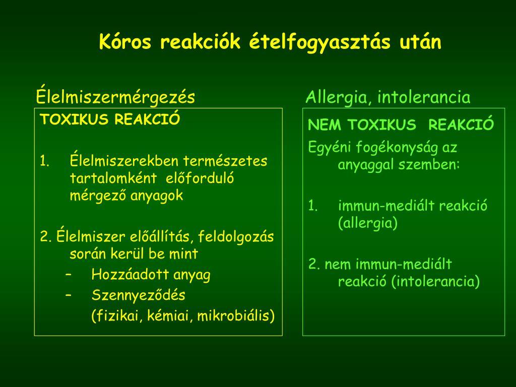 paraziták mikrobiális szennyeződései)