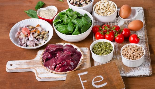 Vérszegénység: mit együnk?