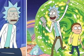 rick and morty sorozat parazitákon