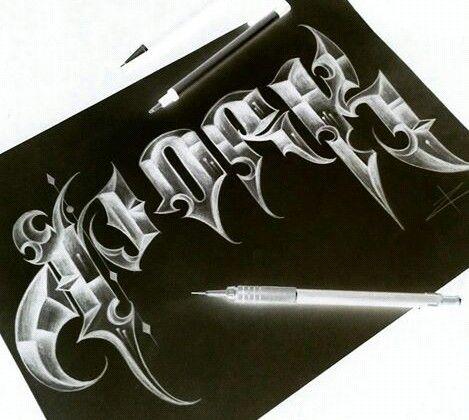 graffiti technika graham által