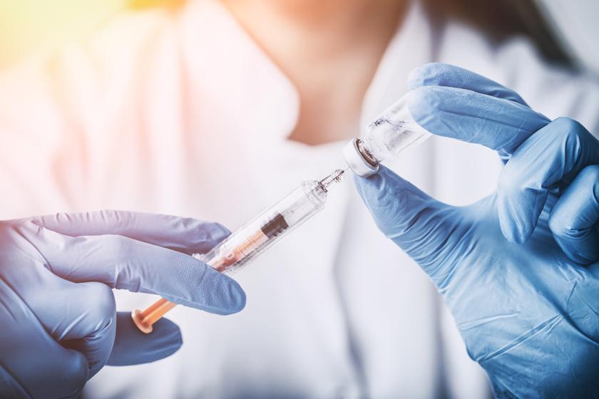 papillomavírus elleni vakcina emberben