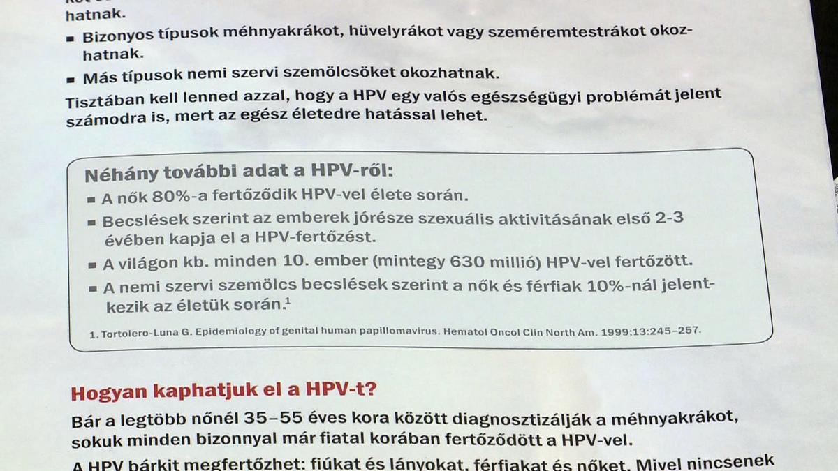 papilloma vírus ember vakcinák