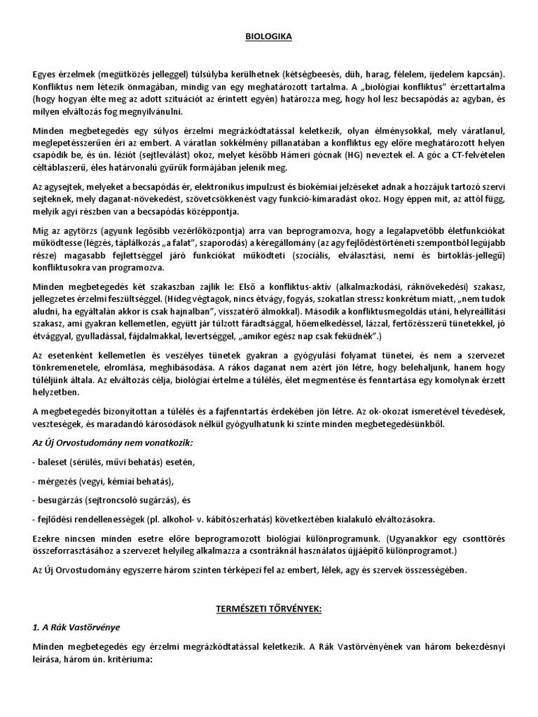nyirokrák őssejtjei)