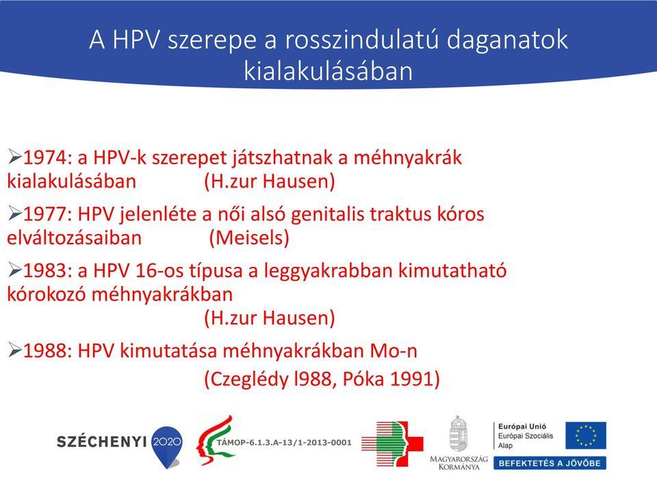 humán papillomavírus nhs választások