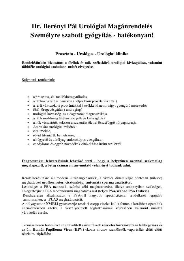 prosztata condyloma)