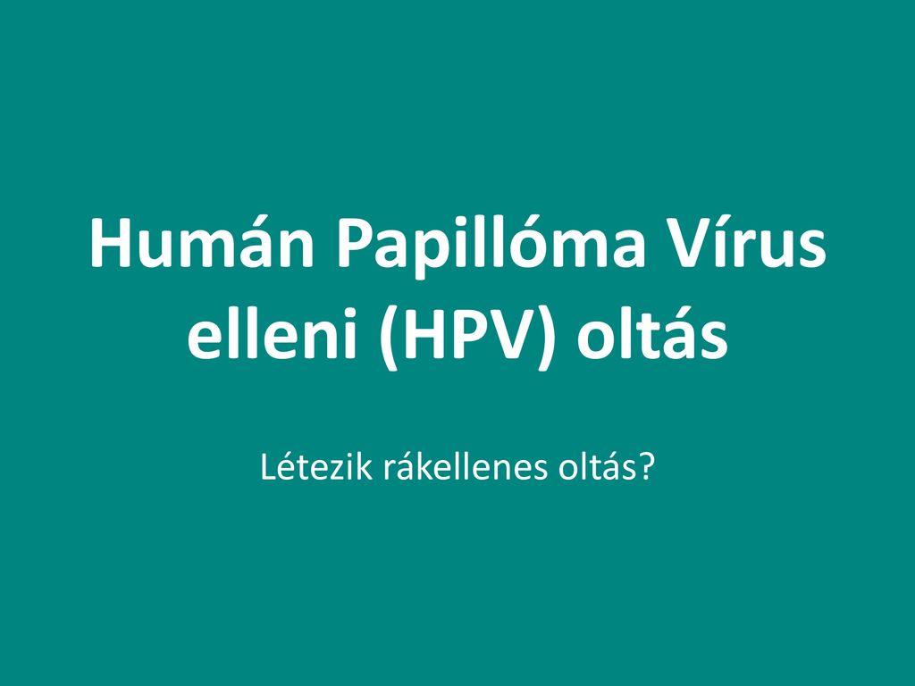 A HPV-oltások látványos következménye - HáziPatika
