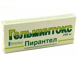 Parazit helmifag, Parazitul helmifag - compoziția și instrucțiunile de utilizare
