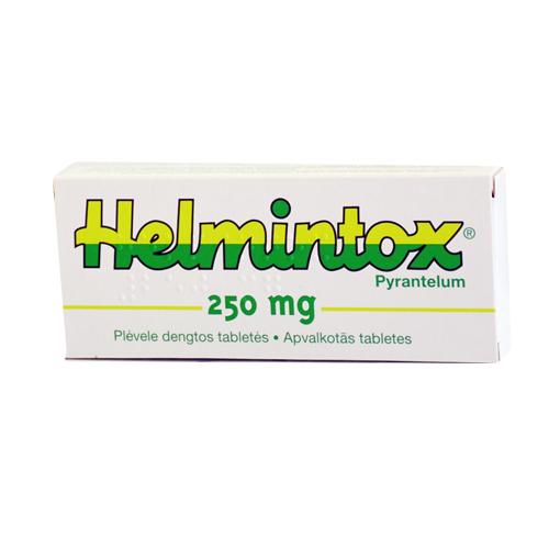 Parazitaellenes gyógyszerek helmintox ára