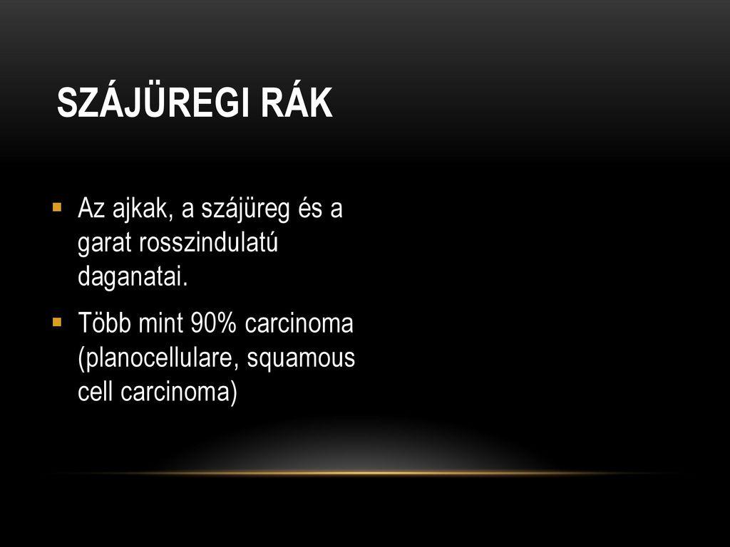 A szájüregi rák megelőzése | setalo.hu