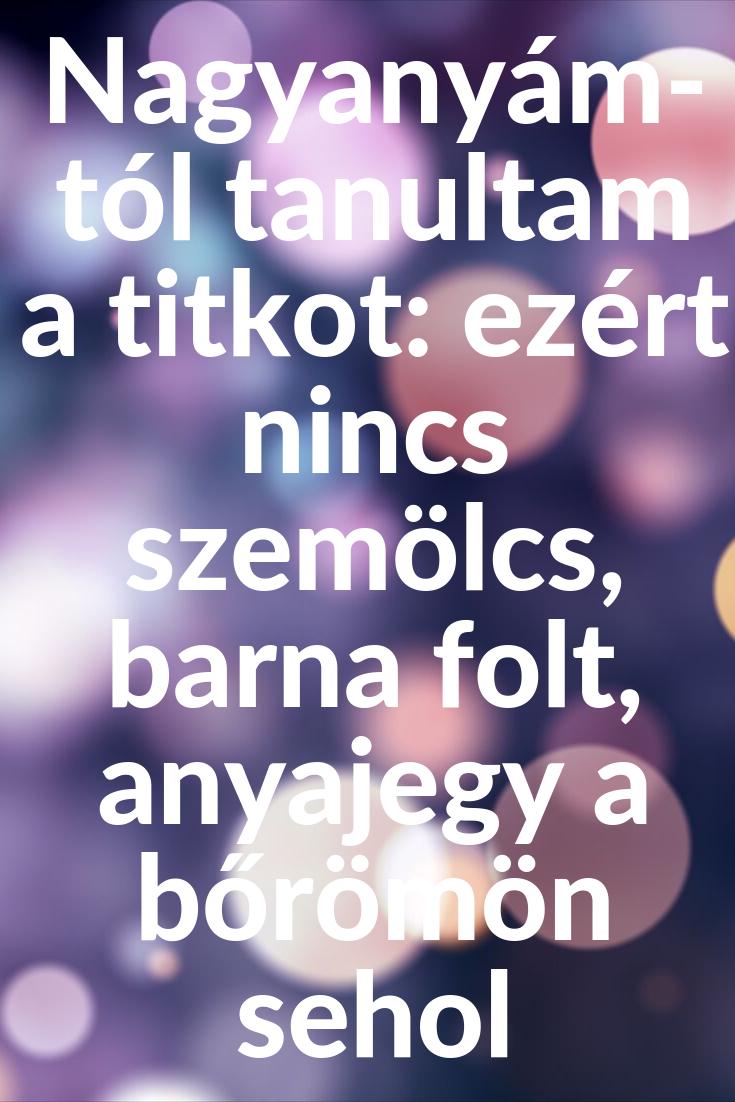 szemölcsök a kezét)