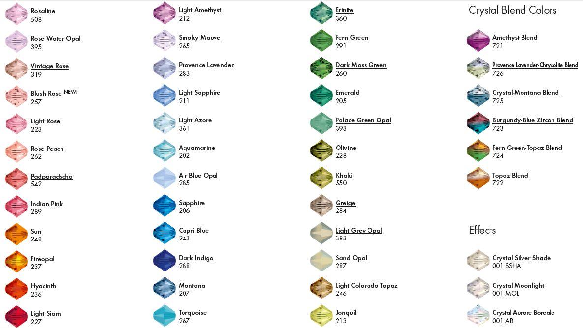 Gyöngyök színe