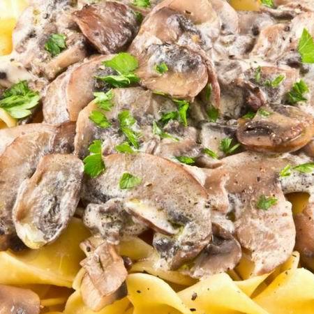 Pasifogó vacsora: Sertéskaraj gombás mártással | Femcafe