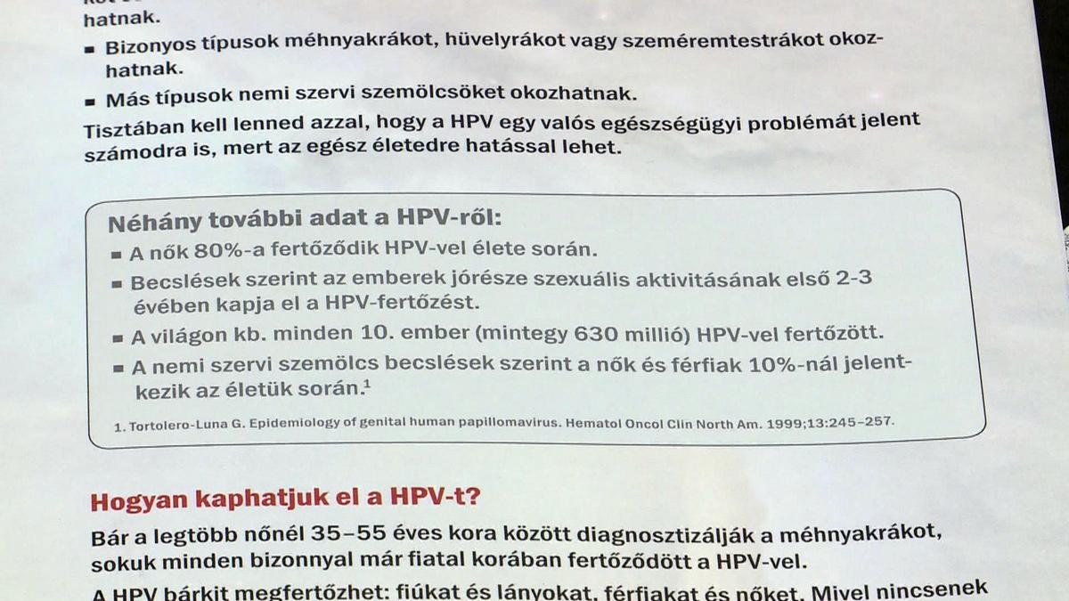 A HPV (méhnyakrák) elleni oltásokról - Nebáncsvirág Egyesület