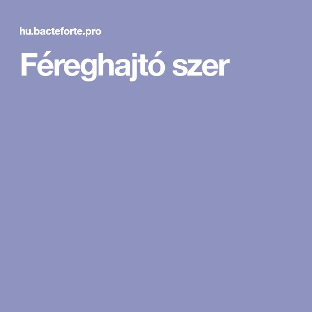 féreghajtó de)