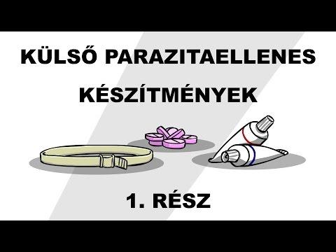 férgek tisztítják a parazitákat)